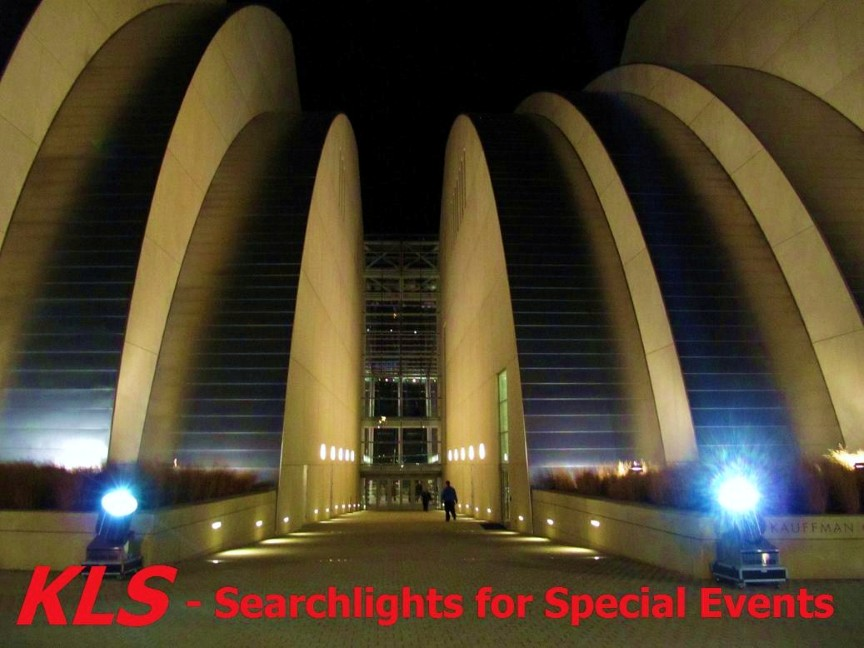 Search Lights for Special Events